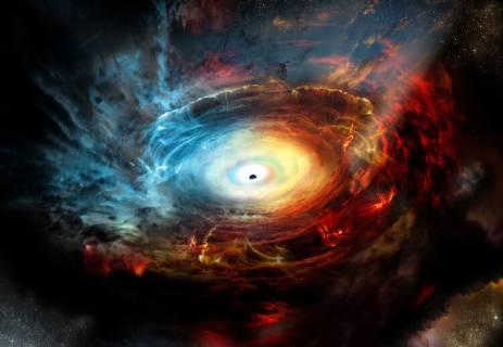 هل الثقوب السوداء سوداء حقاً؟ وهل المادة المظلمة مظلمة حقاً؟