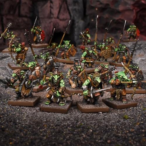 Goblin Regiment 2020 - Mantic Games