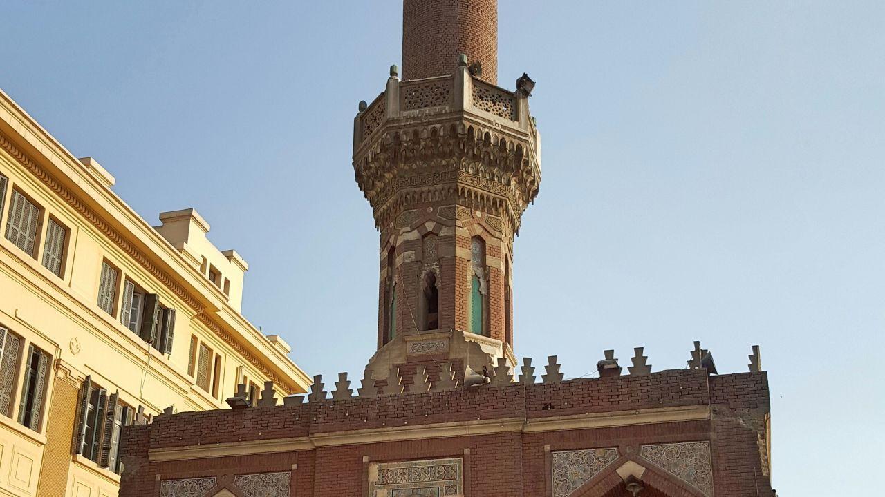 مسجد الطباخ وسط البلد - تصوير ميشيل حنا