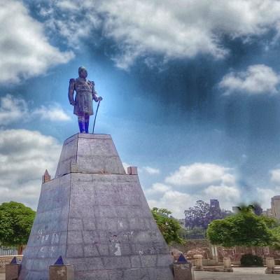 تمثال الخديوي إسماعيل الموجود حاليًا في الإسكندرية - تصوير- ميشيل حنا