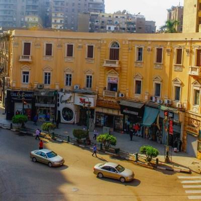 أسطح عقارات وسط البلد في ميدان مصطفى كامل - تصوير: صديق البخشونجي