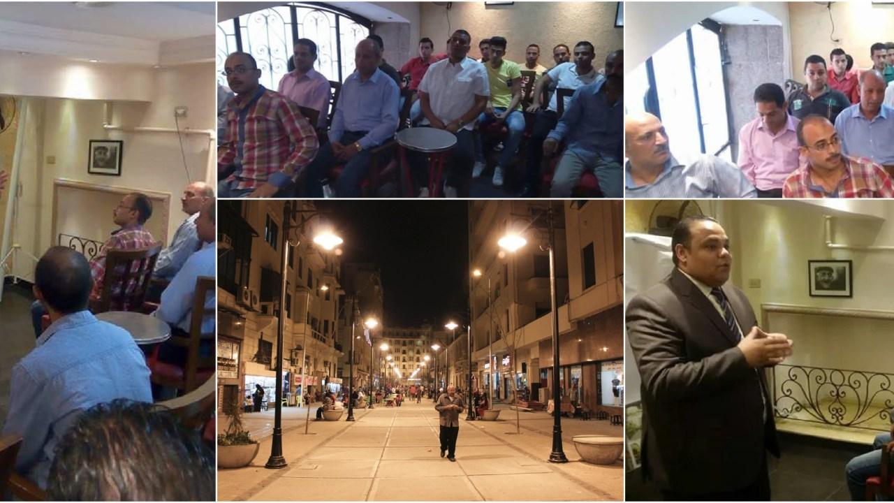 جانب من تدريب محافظة القاهرة للعاملين بممر الألفي