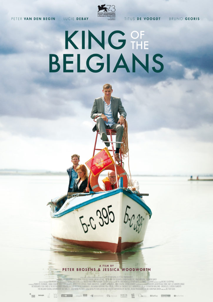 "بوستر فيلم ""KING OF THE BELGIANS"""