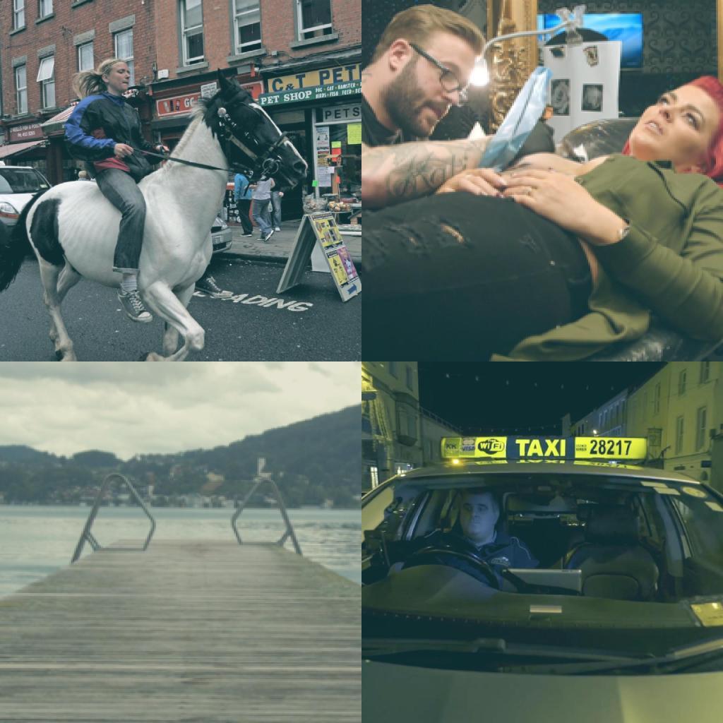 لقطات من عروض أفلام قصيرة من أيرلندا