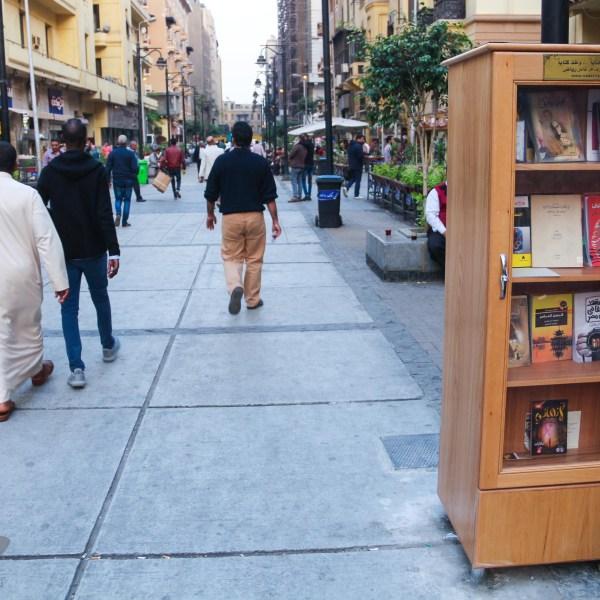 المكتبة في ممر الألفي