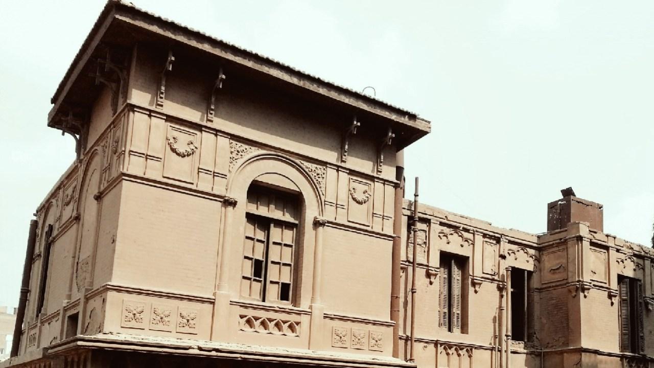 قصر مهجور الزمالك شارع أحمد حشمت