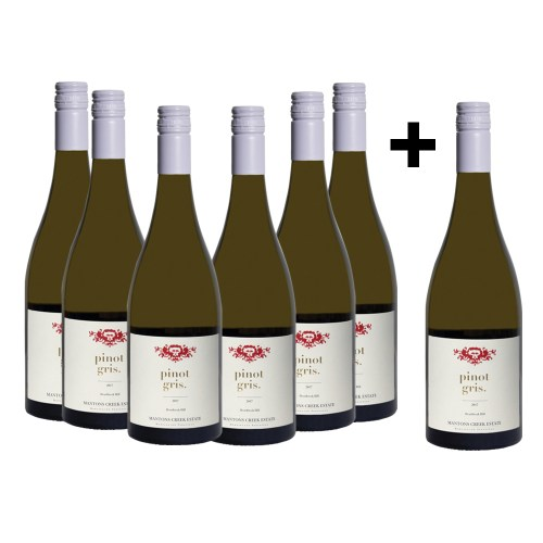 2017 Pinot Gris – Buy six & receive 1x free