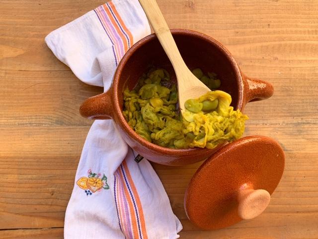 Zuppa di fave e verza