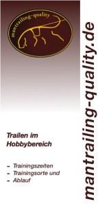Informationsveranstaltung für Hobbytrailer-Infoblatt