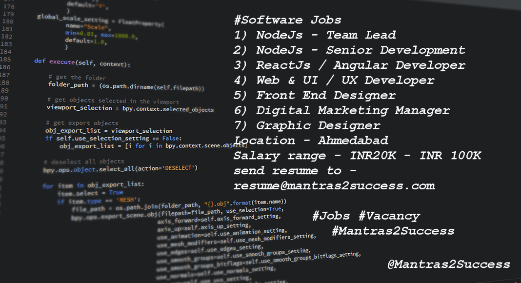 Software Jobs