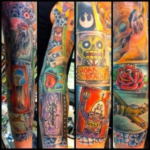 sleeve tattoos in Lakewood