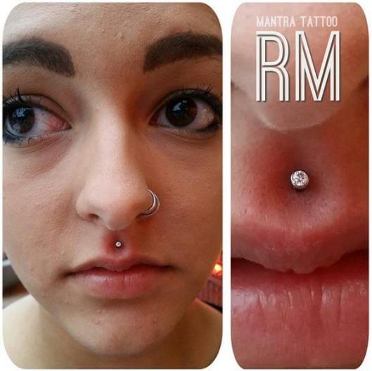 Oral piercings
