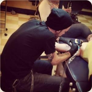 Brian Blalock tattoo artist Denver
