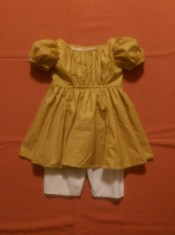 Boy's 1830 dress & pantaloon