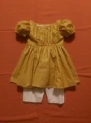 Boy's 1830 dress & pantaloon
