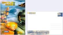 Werbepostkarte für »Battlezone 2«, PC-Action-Spiel von Pandemic/Activision (Layout 1999)