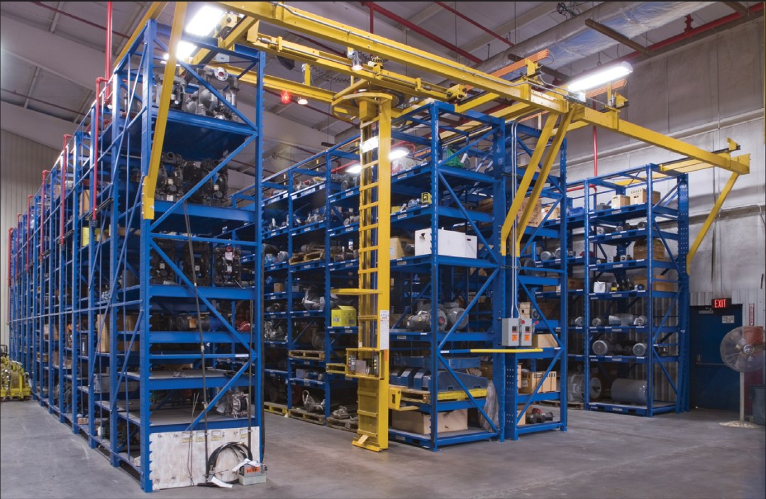 hazmat adjustable racking stanley vidmar