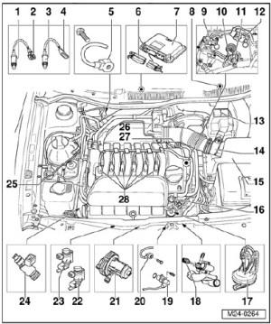 VW Jetta Golf A4 9905 Manual de Servicio y Reparacion