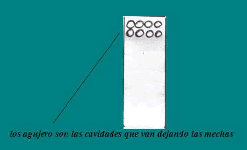 COLOCACION CERRADURAS EN PUERTA DE MADERA: agujeros cavidad