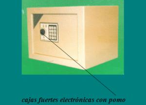 Cajas fuerte de alta seguridad: