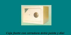 Cajas fuerte de alta seguridad: Doble paleta y dial