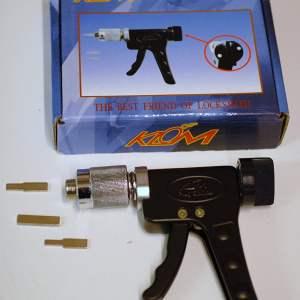 Walker Locksmiths - Pistola de ganzúa para girar bombines