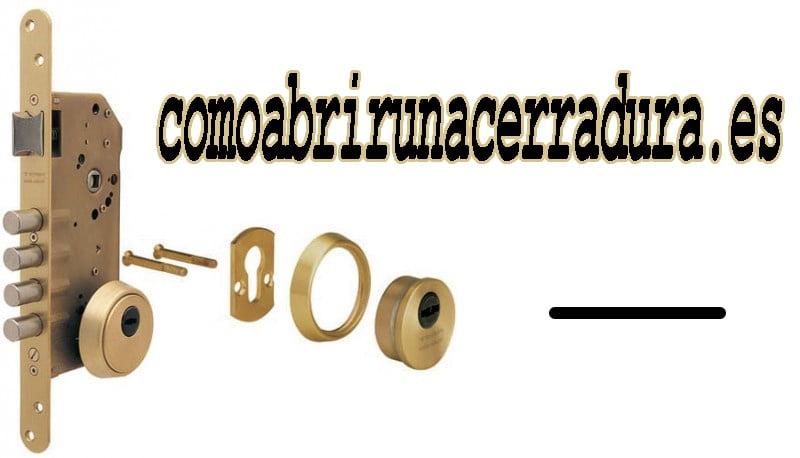 CERRADURA Y PIEZAS PARA EMBUTIR - COMOABRIRUNACERRADURA.ES