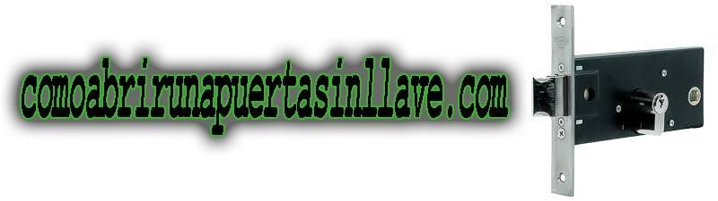 CERRADURA DE ENCASTRAR - COMOABRIRUNAPUERTASINLLAVE.COM