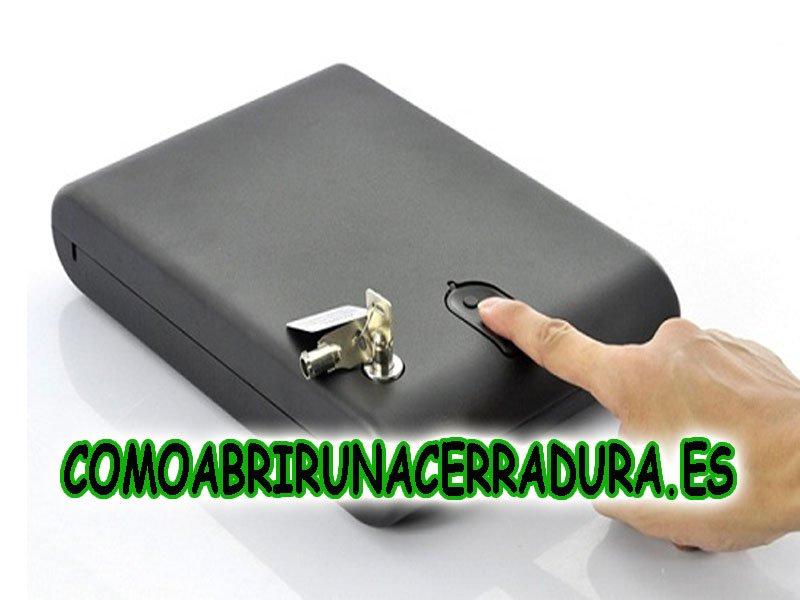 COMOABRIRUNACERRADURA.ES - CAJA HUELLA DACTILAR