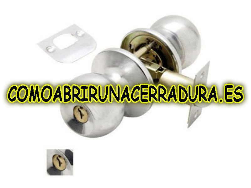 pomo con llave manual cerrajero comoabrirunacerradura.es