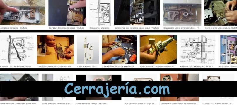 ARMAR CERRADURA - CERRAJERÍA.COM - MANUALCERRAJERO.COM