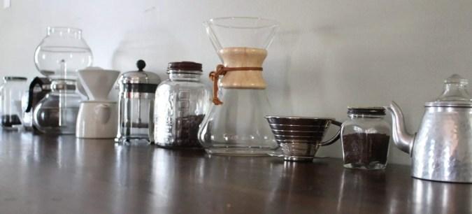 manual coffee brewing gear