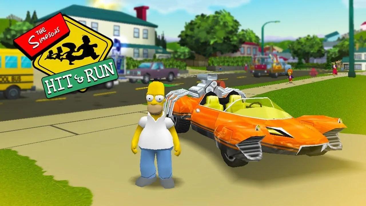 Simpsons Hit And Run é o remaster mais esperado de todos, diz estudo