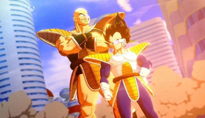 Dragon Ball Z: Kakarot    Es hat sehr große, breite und weitläufige Flächen