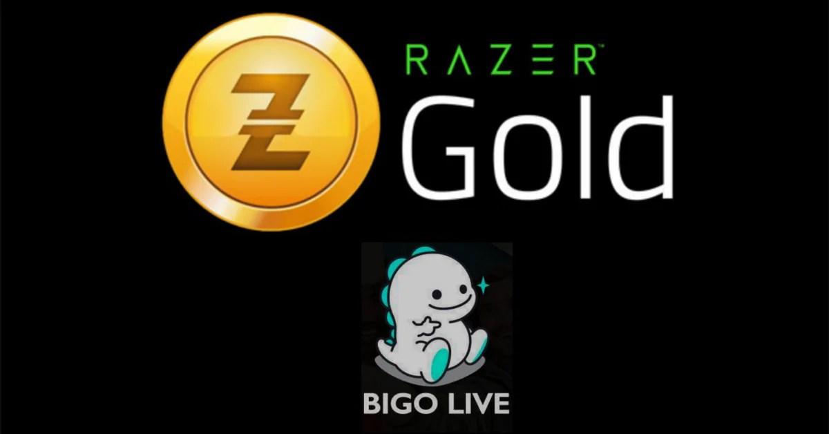 Razer Gold e Bigo Live