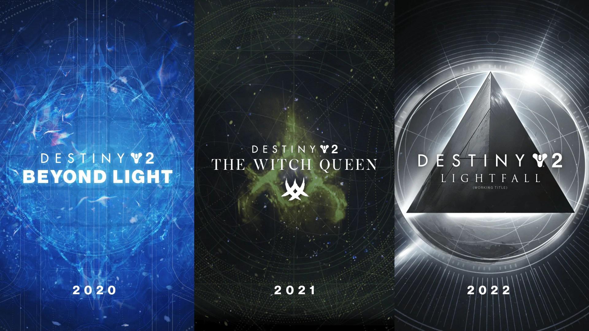 Novas Expansões Destiny 2