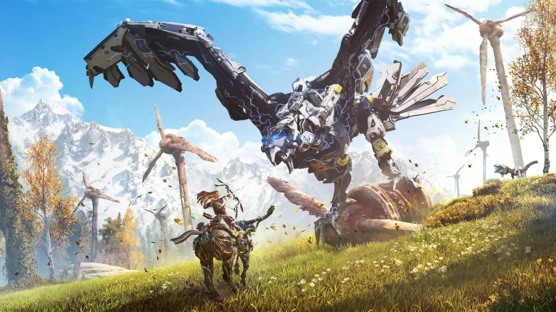 Versão de PC de Horizon Zero Dawn ganha novo gameplay