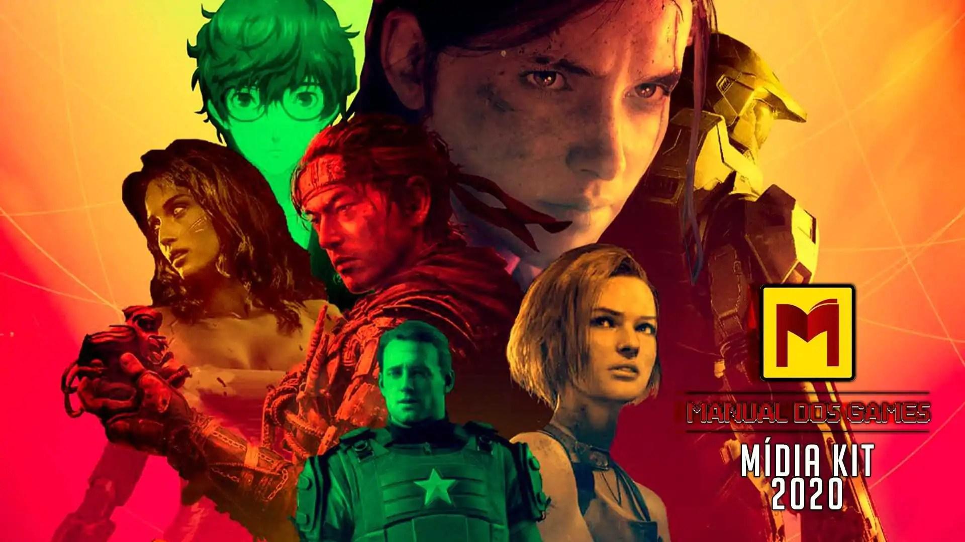 Midia Kit Manual dos Games 2020
