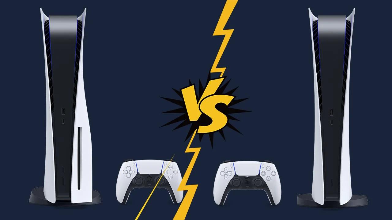 diferenças entre os modelos do novo PS5