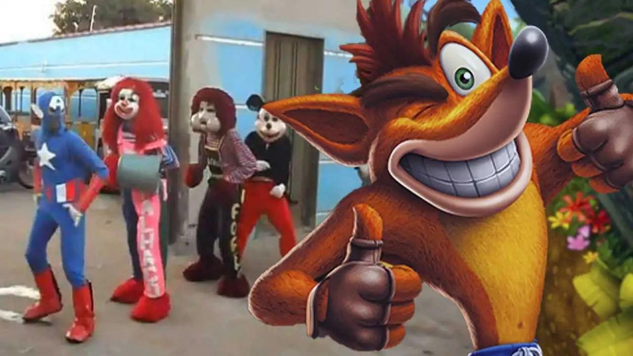 Crash grava vídeo com a Carreta Furacão