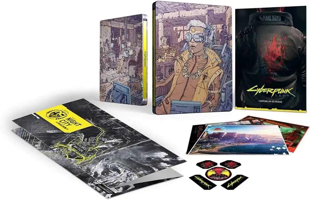 Cyberpunk 2077 Steelbook