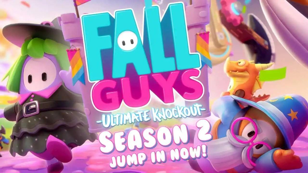 Fall Guys recebe a segunda temporada com tema do Mundo Medieval