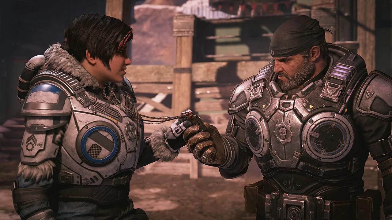 Nova gameplay de Gears 5 no Xbox Series X é revelada, rodando a 120 FPS