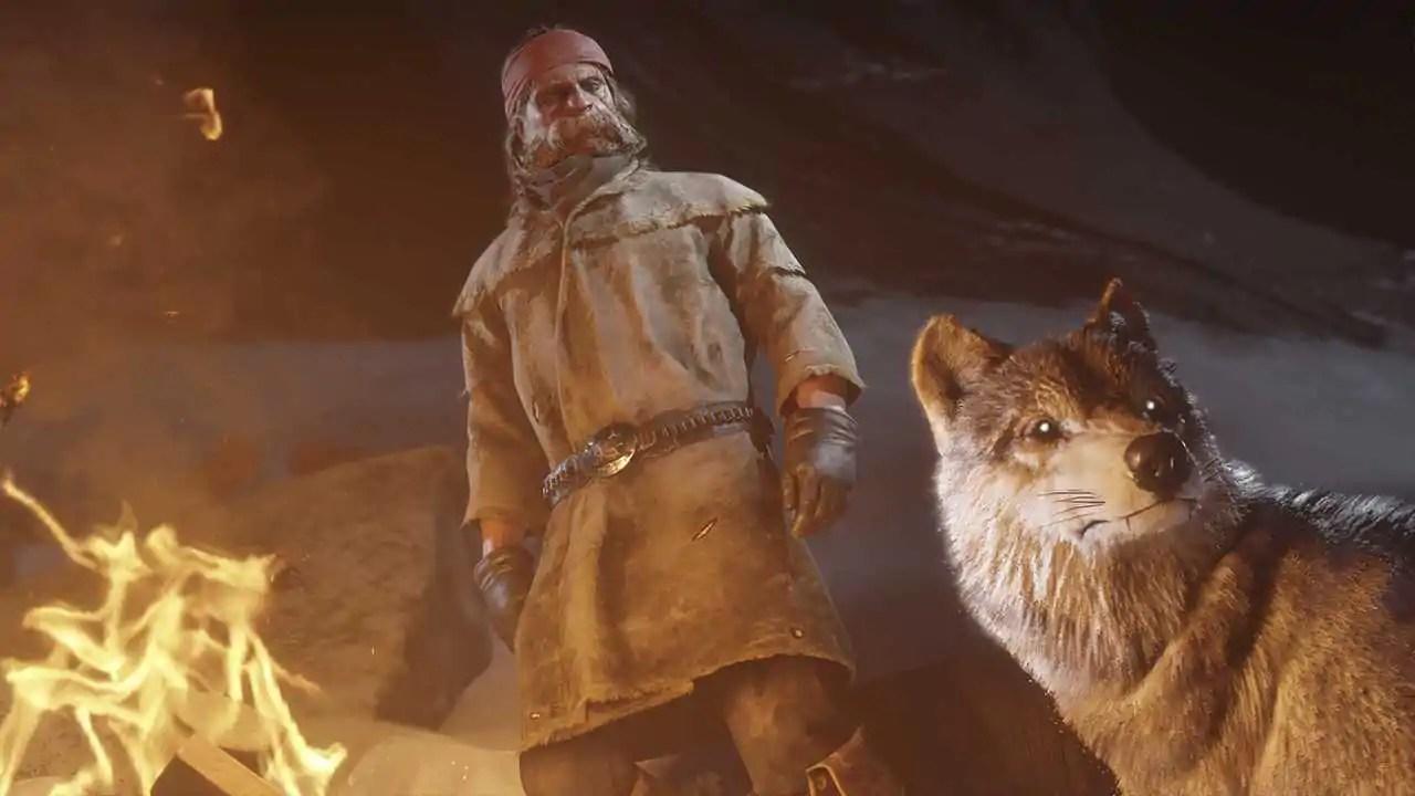 """Cena emocionante de Red Dead 2 mostra lobo """"chorando"""" ao lado de seu companheiro"""