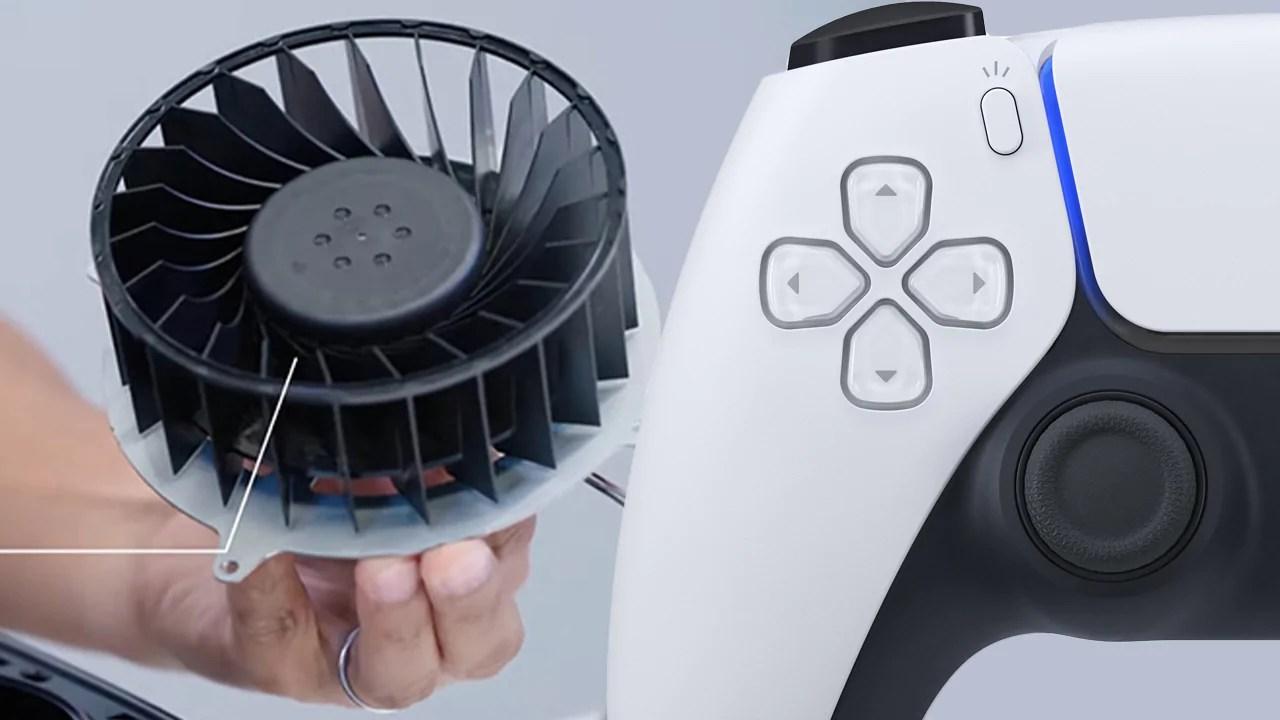 O PS5 é tão grande por causa de seu sistema de resfriamento