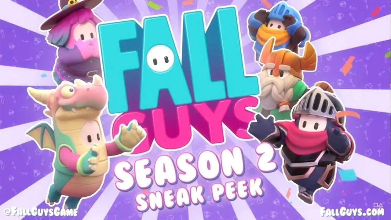 Temporada 2 de Fall Guys chega esta semana