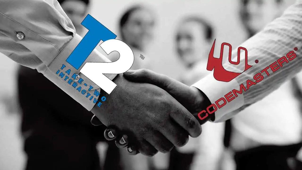 Codemasters aceitou a oferta da Take-Two, diz site