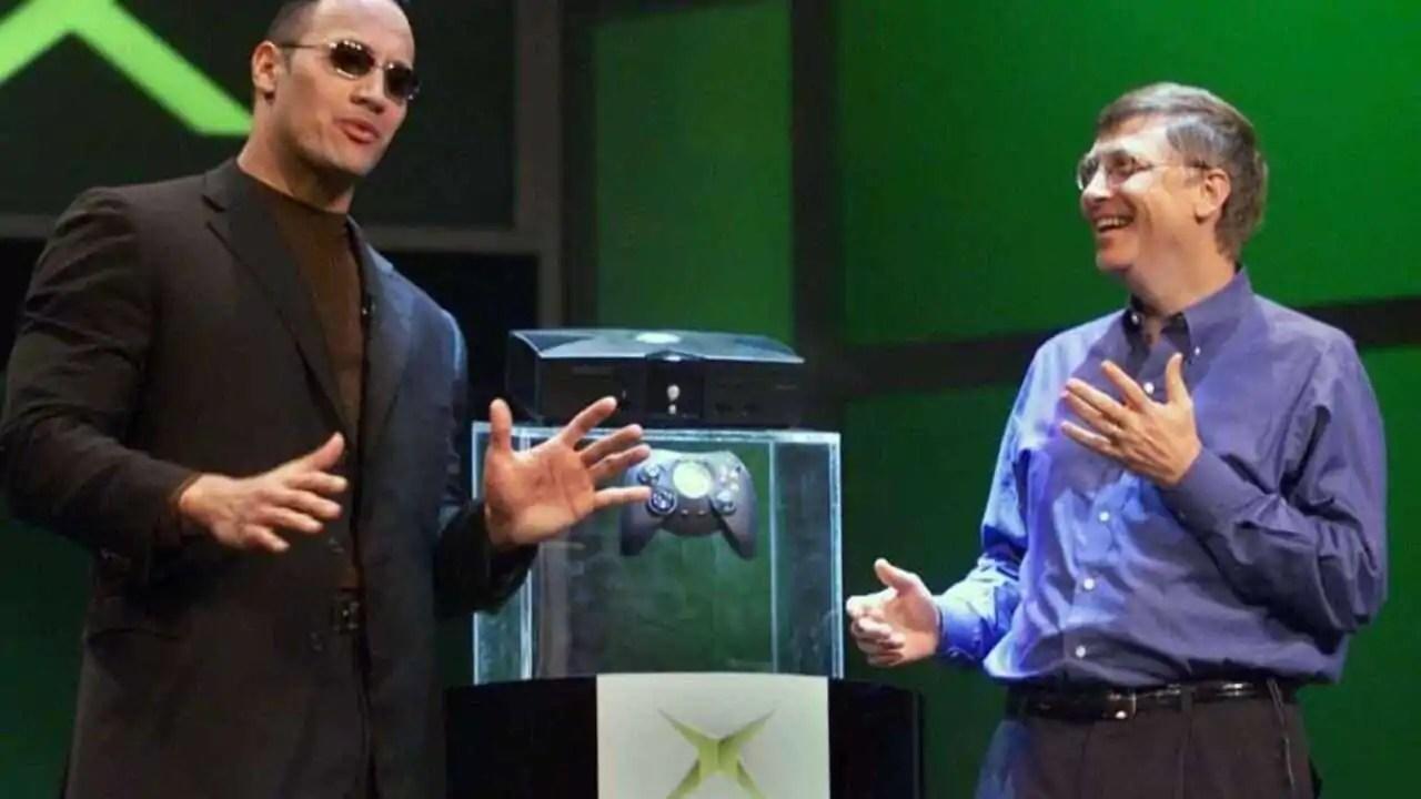 Xbox e The Rock