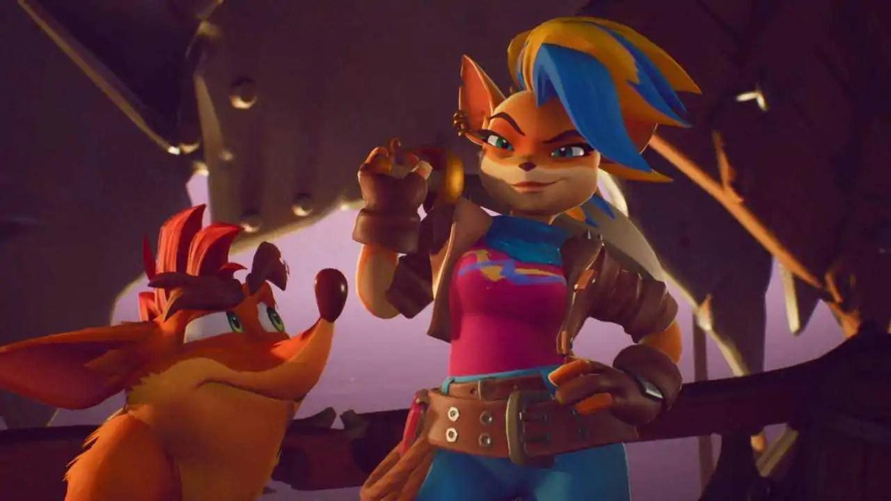 Tawna Crash Bandicoot 4