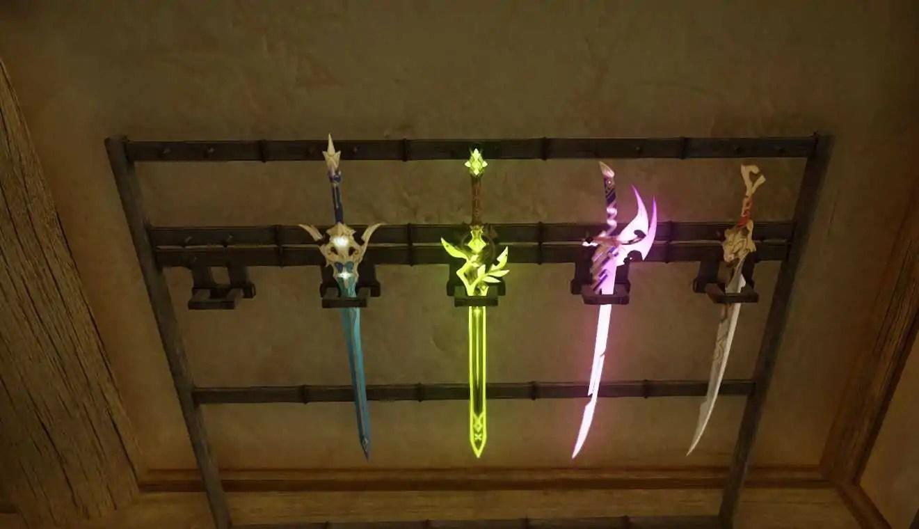 Mod de Skyrim permite que os jogadores usem armas de Genshin Impact